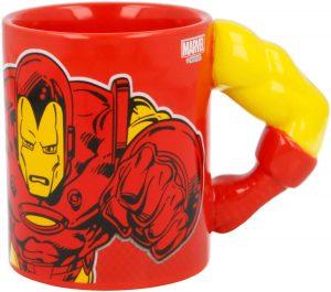 Taza de brazo de Iron man - Las mejores tazas de Iron man - Tazas de Marvel