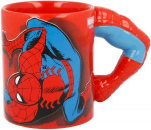 Taza de brazo de Spiderman - Las mejores tazas Spiderman - Tazas de Marvel
