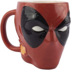 Taza de cabeza de Deadpool - Las mejores tazas de Deadpool - Tazas de Marvel