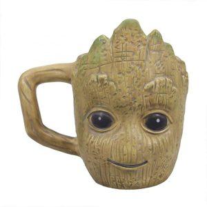 Taza de cabeza de Groot - Las mejores tazas de Groot - Tazas de Marvel