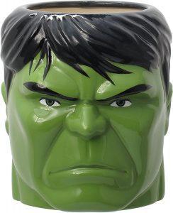 Taza de cabeza de Hulk verde - Las mejores tazas de Hulk - Tazas de Marvel