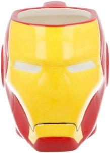 Taza de cabeza de Iron man - Las mejores tazas de Iron man - Tazas de Marvel