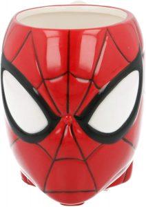 Taza de cabeza de Spiderman - Las mejores tazas de Spiderman - Tazas de Marvel