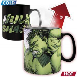 Taza de calor y frío de Hulk - Las mejores tazas de Hulk - Tazas de Marvel
