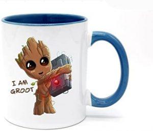 Taza de cambio de color de Groot - Las mejores tazas de Groot - Tazas de Marvel