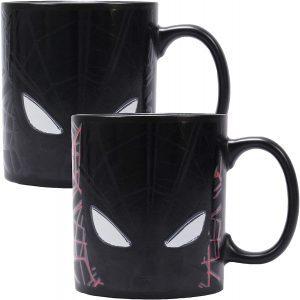 Taza de cambio de color de Spiderman - Las mejores tazas de Spiderman - Tazas de Marvel
