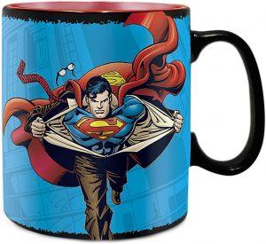 Taza de cambio de color de Superman - Las mejores tazas de Superman - Tazas de DC