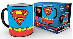 Taza de cambio de color de logo de Superman - Las mejores tazas de Superman - Tazas de DC