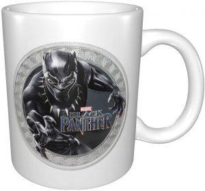 Taza de cerámica de Black Panther - Las mejores tazas de Black Panther - Tazas de Marvel