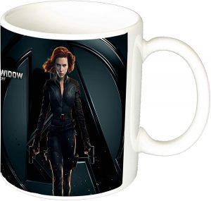 Taza de cerámica de Black Widow - Las mejores tazas de Black Widow - Tazas de Marvel