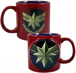 Taza de cerámica de Capitana Marvel - Las mejores tazas de Capitana Marvel - Tazas de Marvel