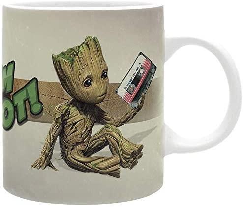 Taza de cerámica de Groot - Las mejores tazas de Groot - Tazas de Marvel