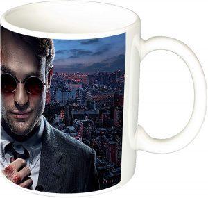 Taza de cerámica de Matt Murdock - Las mejores tazas de Daredevil - Tazas de Marvel