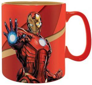 Taza de cerámica gigante de Iron man - Las mejores tazas de Iron man - Tazas de Marvel