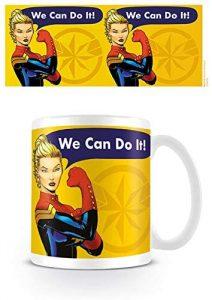 Taza de cómics de Capitana Marvel - Las mejores tazas de Capitana Marvel - Tazas de Marvel