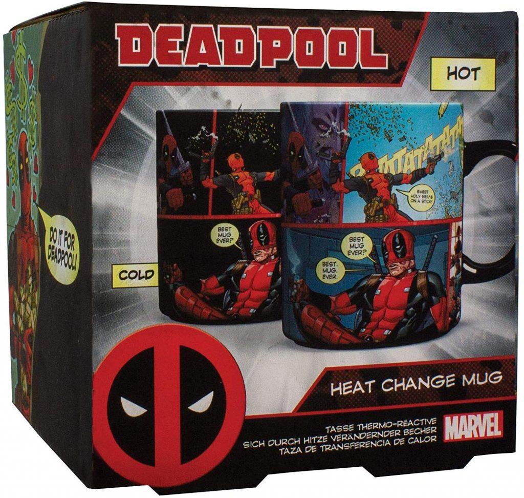 Taza de cómics de Deadpool - Las mejores tazas de Deadpool - Tazas de Marvel