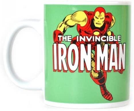 Taza de cómics de Iron man - Las mejores tazas de Iron man - Tazas de Marvel
