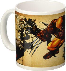 Taza de cómics de Lobezno - Las mejores tazas de Lobezno - Tazas de Marvel