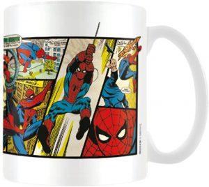Taza de cómics de Spiderman - Las mejores tazas de Spiderman - Tazas de Marvel