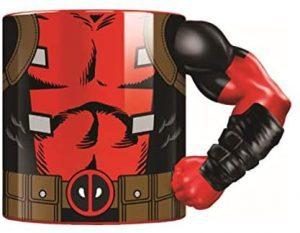 Taza de cuerpo de Deadpool - Las mejores tazas de Deadpool - Tazas de Marvel