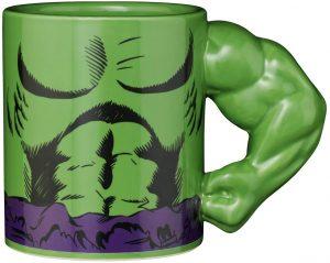 Taza de cuerpo de Hulk verde - Las mejores tazas de Hulk - Tazas de Marvel