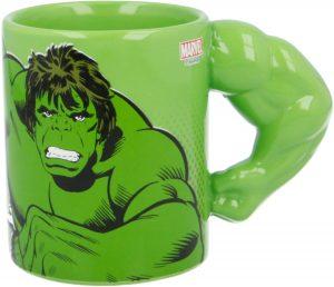 Taza de cuerpo de Hulk verde clásico - Las mejores tazas de Hulk - Tazas de Marvel