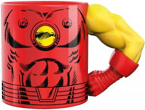 Taza de cuerpo de Iron man - Las mejores tazas de Iron man - Tazas de Marvel