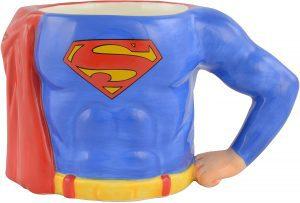 Taza de cuerpo de Superman - Las mejores tazas de Superman - Tazas de DC