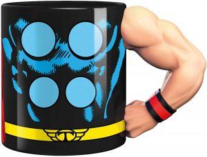 Taza de cuerpo de Thor - Las mejores tazas de Thor - Tazas de Marvel