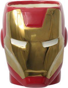 Taza de la armadura de Iron man - Las mejores tazas de Iron man - Tazas de Marvel