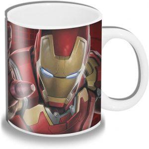 Taza de la armadura de Iron man retro - Las mejores tazas de Iron man - Tazas de Marvel