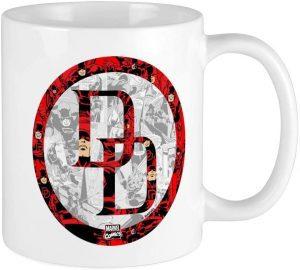 Taza de logo de Daredevil - Las mejores tazas de Daredevil - Tazas de Marvel