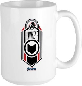 Taza de logo de Hawkeye - Las mejores tazas de Hawkeye - Ojo de Halcón - Tazas de Marvel