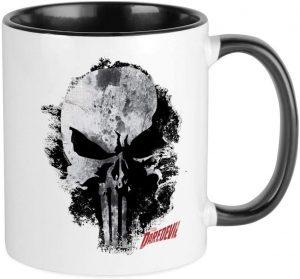 Taza de logo de Punisher de Daredevil - Las mejores tazas de The Punisher - Tazas de Marvel
