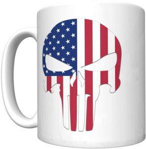 Taza de logo de Punisher de USA - Las mejores tazas de The Punisher - Tazas de Marvel