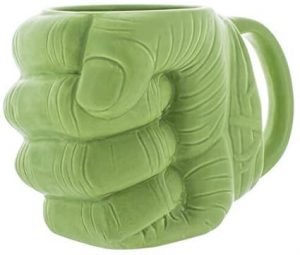 Taza de mano de Hulk verde - Las mejores tazas de Hulk - Tazas de Marvel
