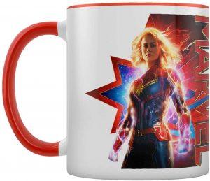 Taza de porcelana gigante de Capitana Marvel - Las mejores tazas de Capitana Marvel - Tazas de Marvel