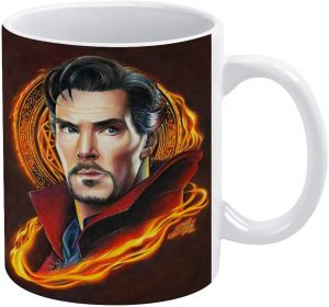 Taza de pose de Benedict Cumberbatch de Doctor Strange - Las mejores tazas de Doctor Strange - Tazas de Marvel