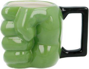 Taza de puño de Hulk verde - Las mejores tazas de Hulk - Tazas de Marvel