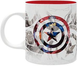 Taza del Capitán América byn - Las mejores tazas de Capitán América - Tazas de Marvel