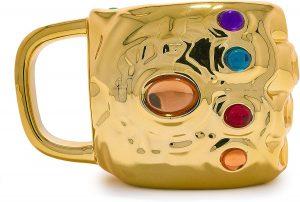 Taza del Guantelete del Infinito de Thanos - Las mejores tazas de Thanos - Tazas de Marvel