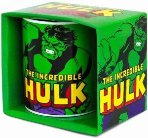 Taza del Increíble Hulk verde - Las mejores tazas de Hulk - Tazas de Marvel