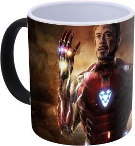 Taza del chasquido de Iron man - Las mejores tazas de Iron man - Tazas de Marvel