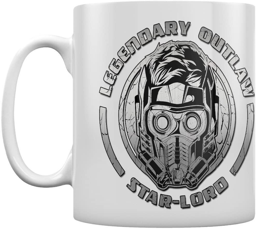 Taza del legendario forajido Star Lord - Las mejores tazas de Star Lord - Tazas de Marvel