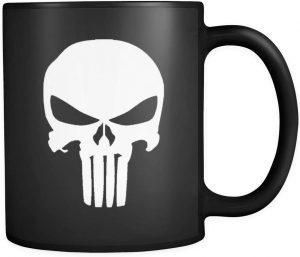 Taza del logo de The Punisher - Las mejores tazas de The Punisher - Tazas de Marvel