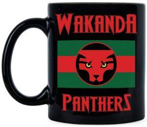 Taza del país de Wakanda de Black Panther - Las mejores tazas de Black Panther - Tazas de Marvel