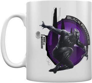 Taza del rey de Wakanda de Black Panther - Las mejores tazas de Black Panther - Tazas de Marvel
