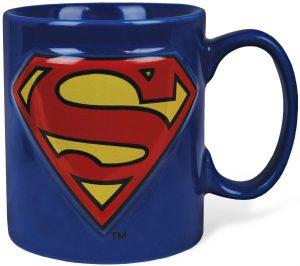 Taza diseño de logo de Superman - Las mejores tazas de Superman - Tazas de DC