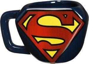 Taza forma de logo de Superman - Las mejores tazas de Superman - Tazas de DC