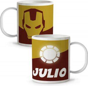Taza personalizada de Iron man - Las mejores tazas de Iron man - Tazas de Marvel